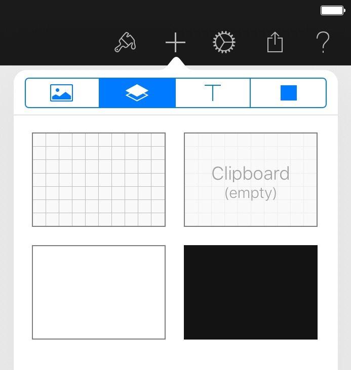 Pixelmator Layers.